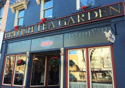 British Tea Garden & Rooftop Cafe